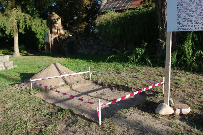 Behelfsdenkmal Fergitz, 2008, Detail